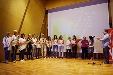 Premios y aplausos para los chicos de Autismo Aragón en la Gala Fin de curso de Terapias Audiovisuales Adaptadas