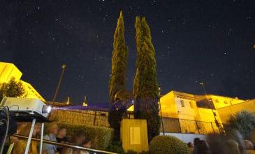 Calanda se convierte en la meca del cine del Bajo Aragón durante una semana