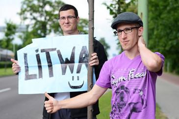 Haciendo autostop rumbo a Lituania