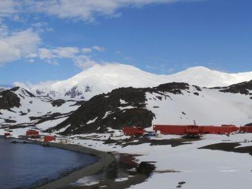 Imagen de la Base Juan Carlos I en la Antártida