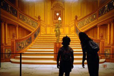 Escalinata de Primera Clase (Recreación)