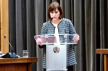Sara Fernández ha criticado este año y medio de gestión de ZeC