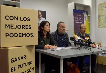 Itxaso Cabrera ejerce como portavoz de Podemos en materia de Sanidad