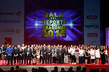 La Gala del Deporte se celebró en el Palacio de Congresos