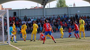Los turiasonenses caían por 4-2 en la eliminatoria ante Navalcarnero. Foto: web S.D. Tarazona