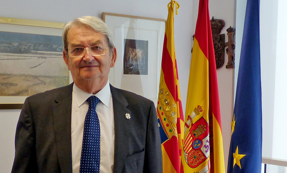 Julio Arenere es el presidente de la Audiencia Provincial de Zaragoza
