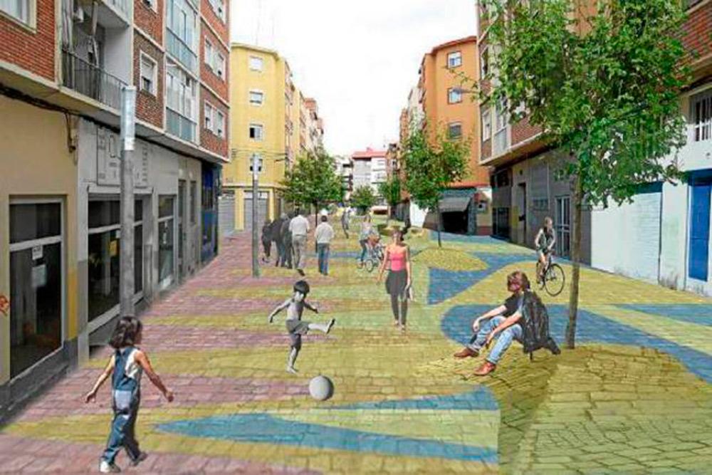 Isla del barrio de San José donde se dará preferencia a los peatones