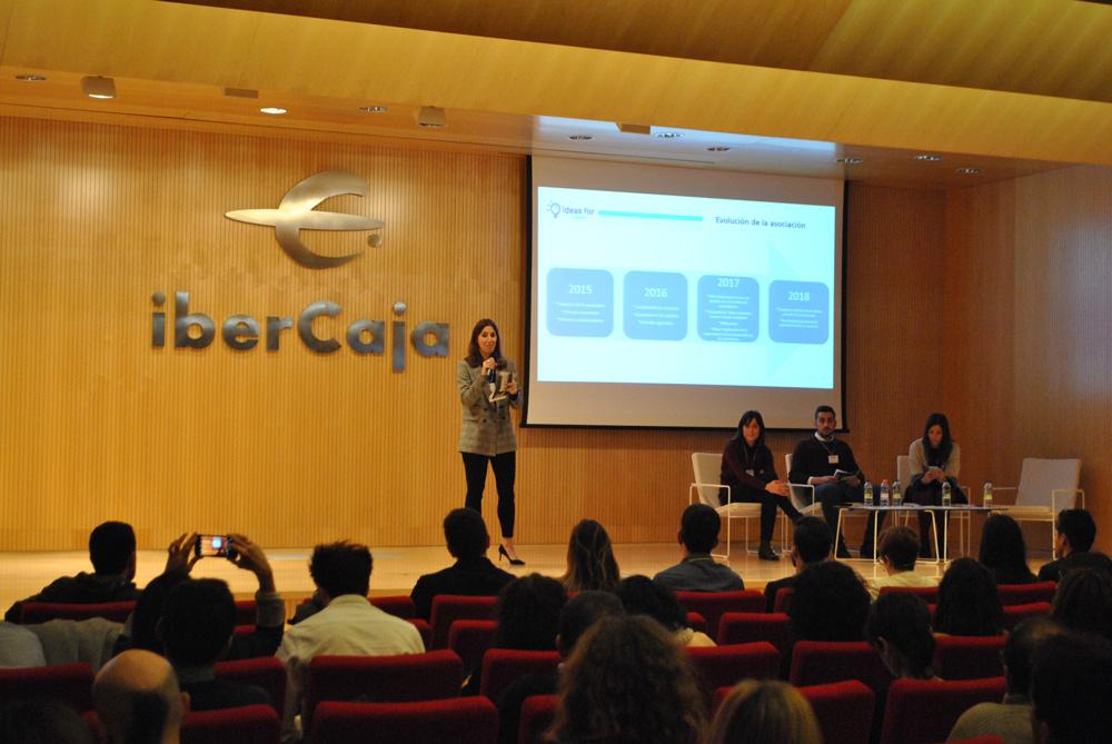 Un total de ocho jóvenes han presentado sus iniciativas con el objetivo de mejorar Zaragoza