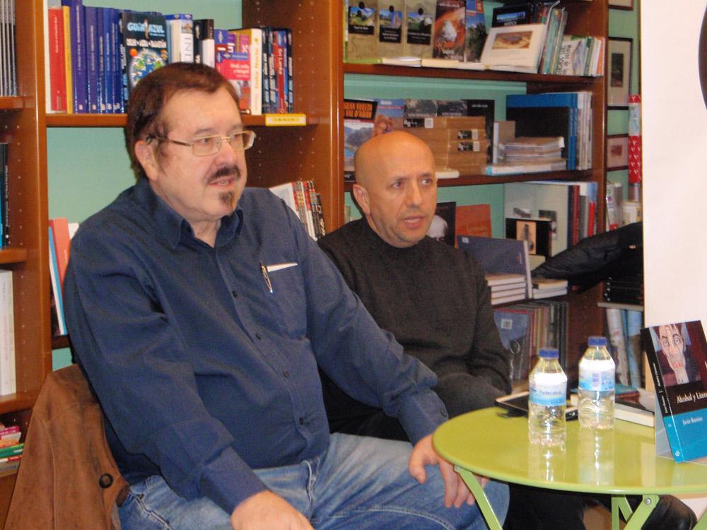 Barreiro presentó su ensayo en librería Cálamo