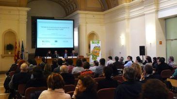 El consejero ha sido el encargado de clausurar las jornadas de presentación de los proyectos de cooperación de la Alianza Agroalimentaria Aragonesa.