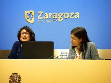 Elena Giner y Elena Rivas han presentado la nueva herramienta en el Ayuntamiento
