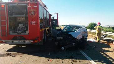 Uno de los accidentes ha ocurrido cerca de la localidad de Mallén