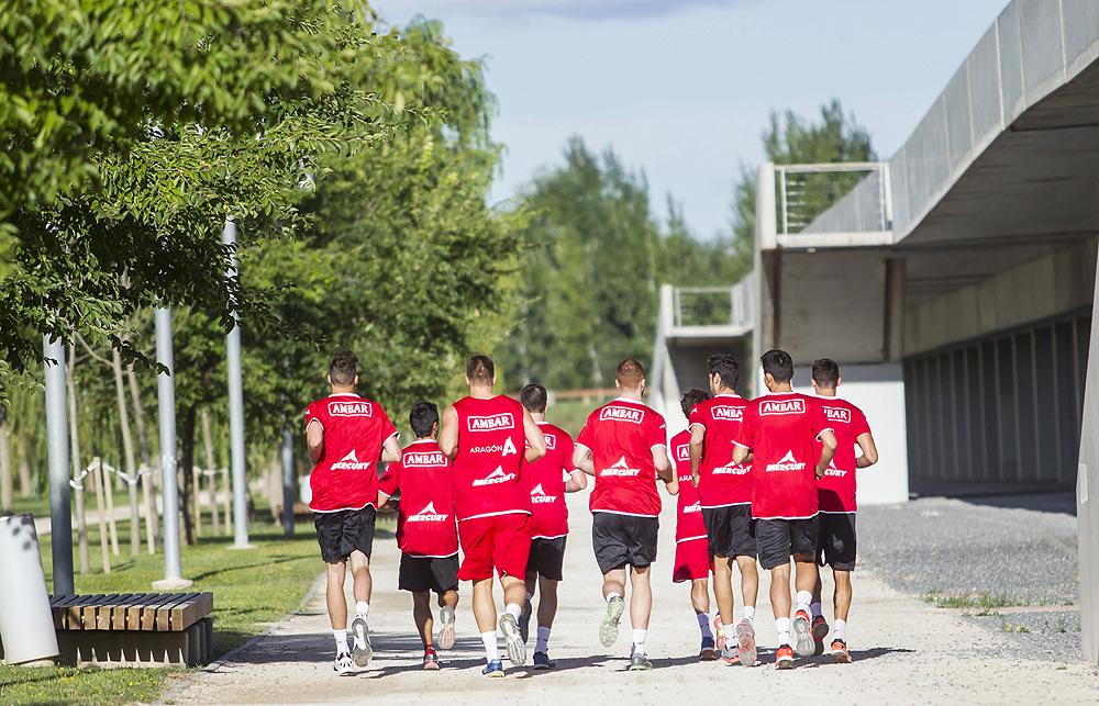 El equipo echará a correr a partir del 16 de agosto. Foto: Basket Zaragoza