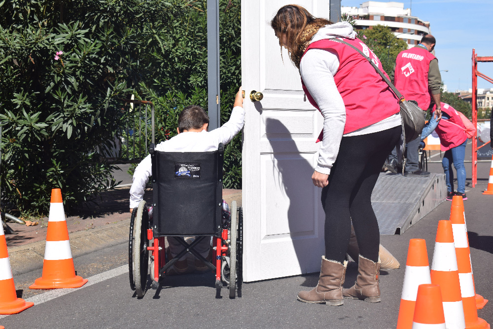 El circuito en silla de ruedas ha sido una de las actividades más populares