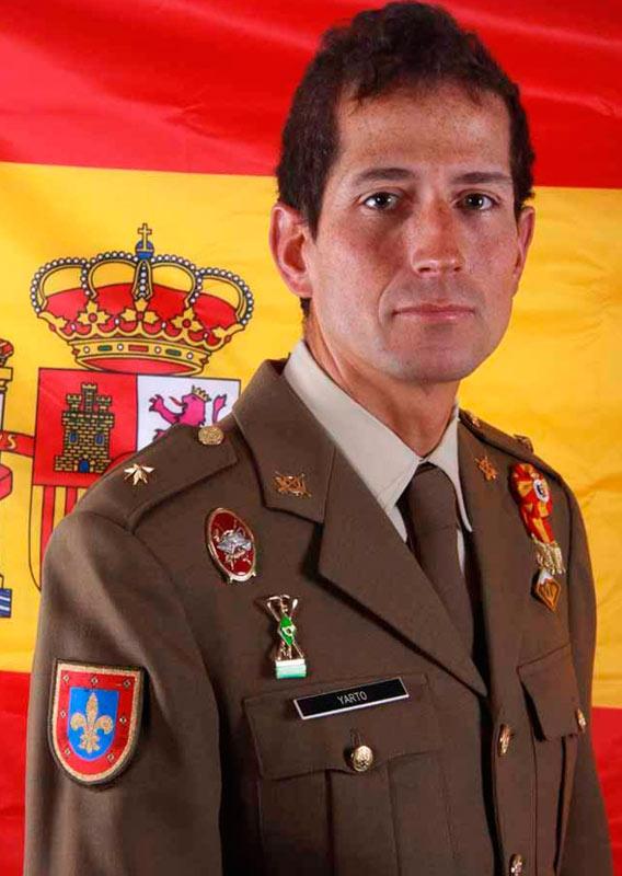 El comandante Fernando Yarto estaba destinado a la Escuela Militar Montaña y Operaciones Especiales Jaca. Foto: Ejército de Tierra