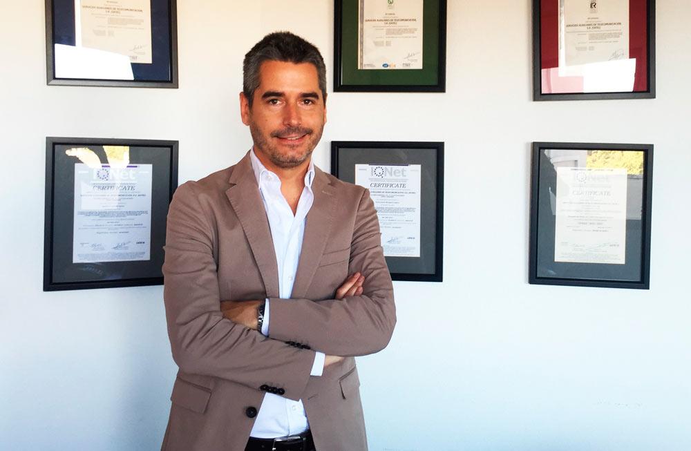 David Gavín es director adjunto de Satel, una de las compañías locales más antiguas en proyección eólica