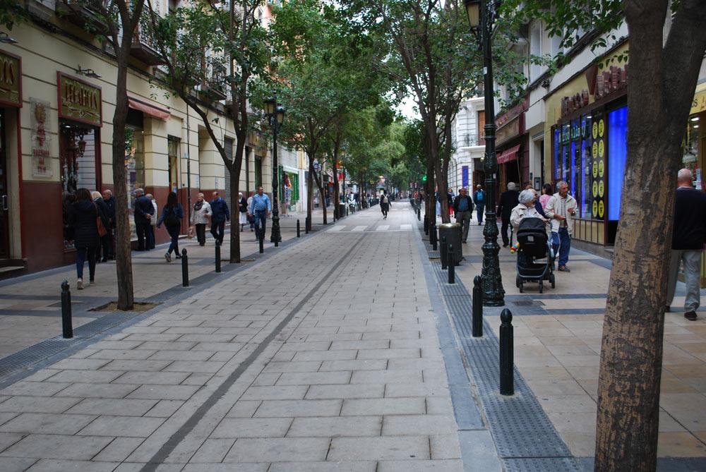 El resto del centro seguirá el proceso de la calle Don Jaime, ya elevada casi al completo