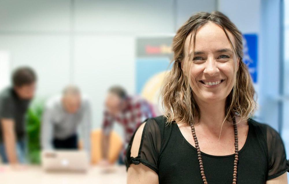 Cristina Bentué es directora de la empresa Continuum Security