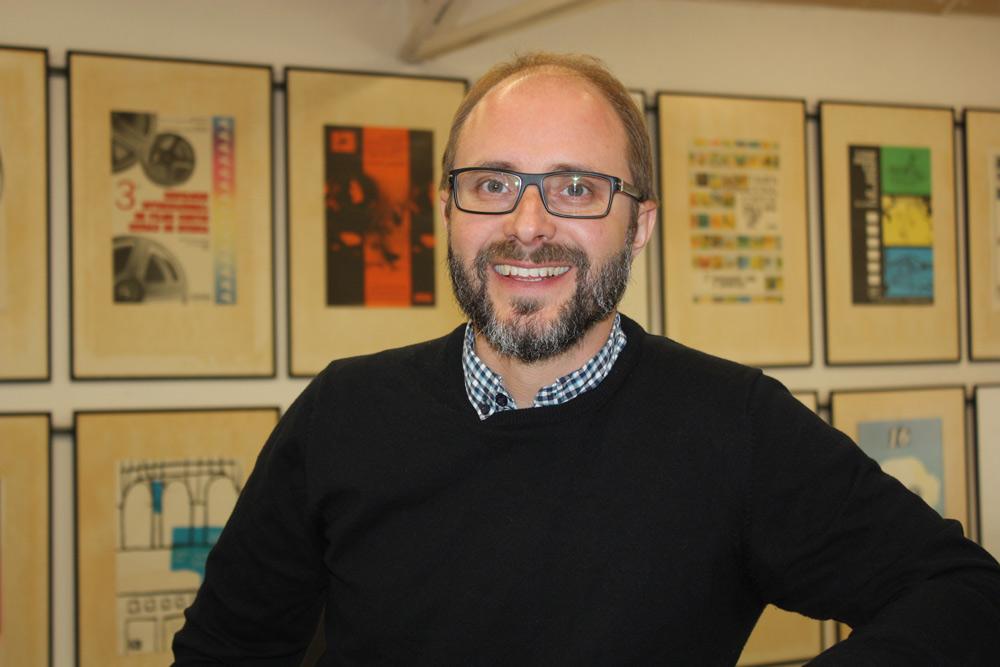 Rubén Moreno es el nuevo director del Festival Internacional de Cine de Huesca