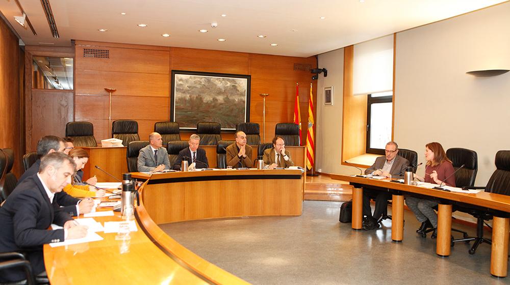 La Ponencia de Relaciones con la Cámara de Cuentas ha analizado el informe de la gestión de Sarga durante el año 2015