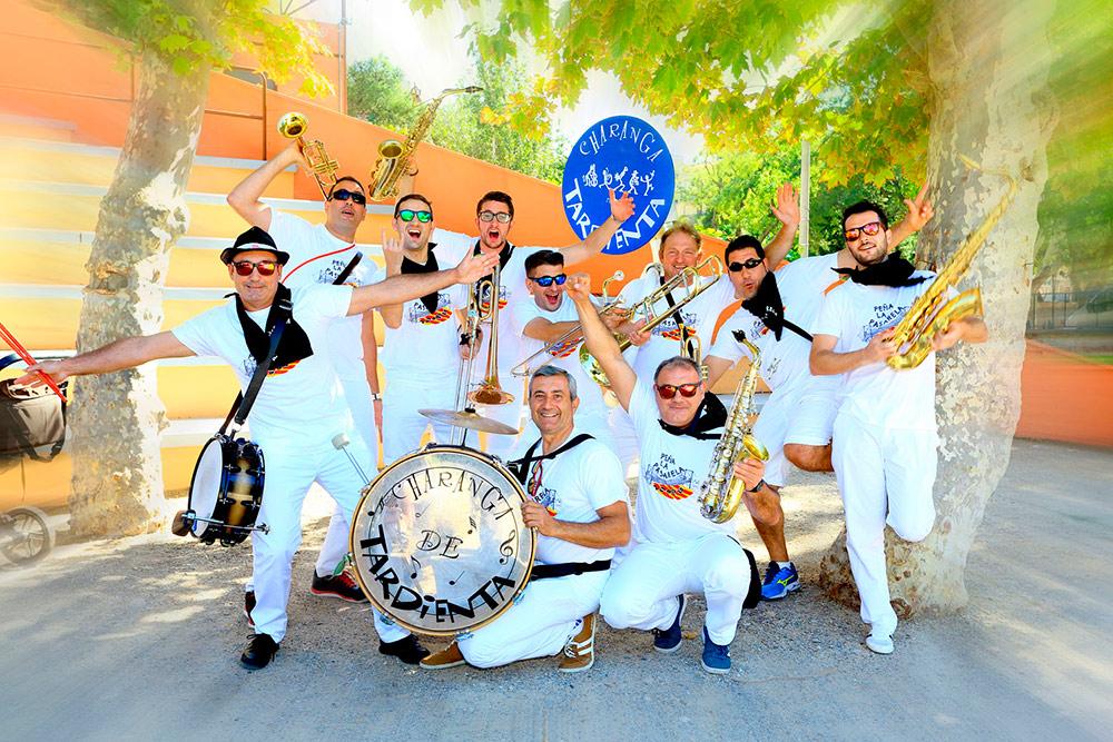 La Charanga de Tardienta nació en el año 1984 y es una de las más antiguas de Aragón