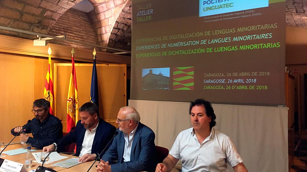 Este intercambio de conocimientos forma parte del proyecto europeo conocido como Poctefa Linguatec
