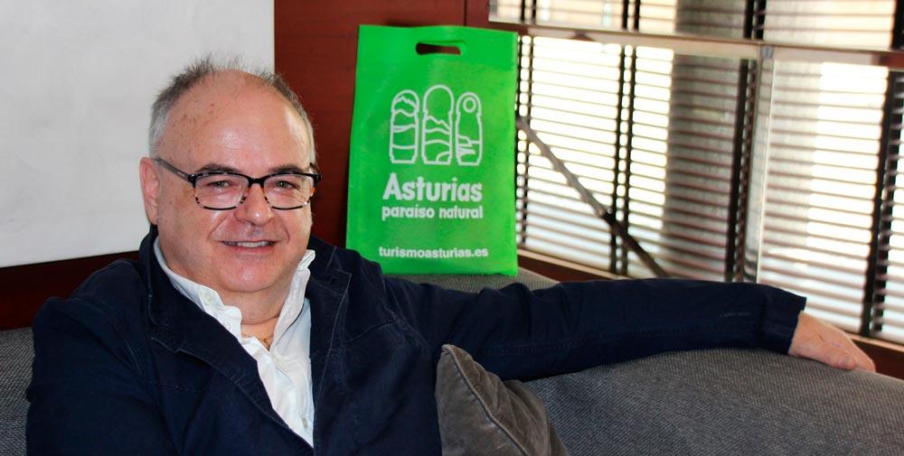 El gerente de Turismo de la Comarca de Avilés, José Antonio Álvarez