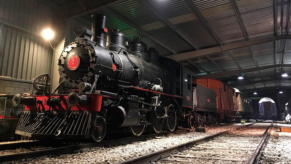 El proyecto permitirá exhibir el importante patrimonio histórico ferroviario que se conserva. Imagen Azaft
