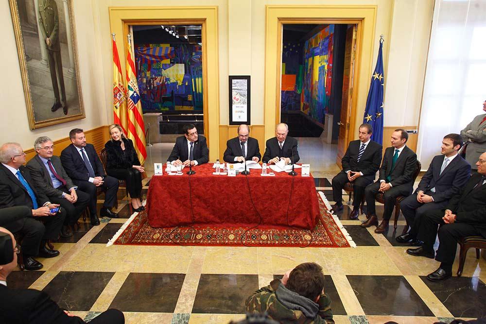 La DGA firmó un acuerdo de colaboración con BonÀrea en febrero de 2017