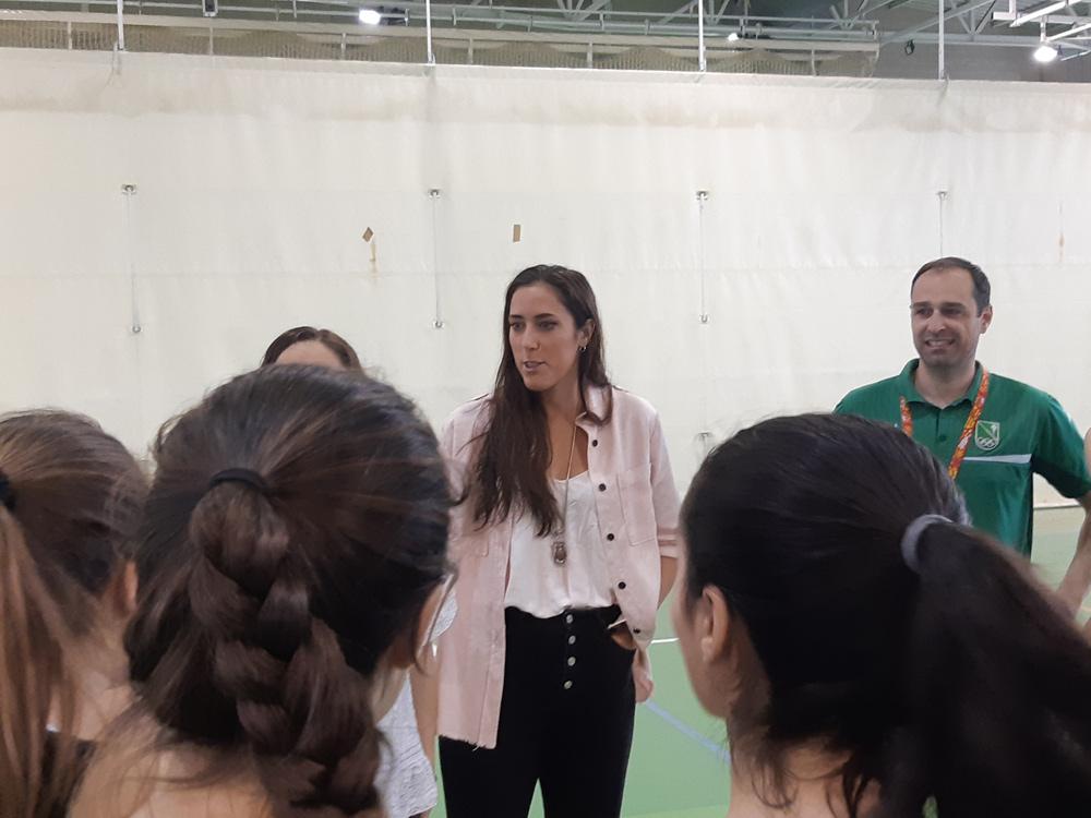La valenciana quiere devolver en la pista la confianza recibida tras su lesión