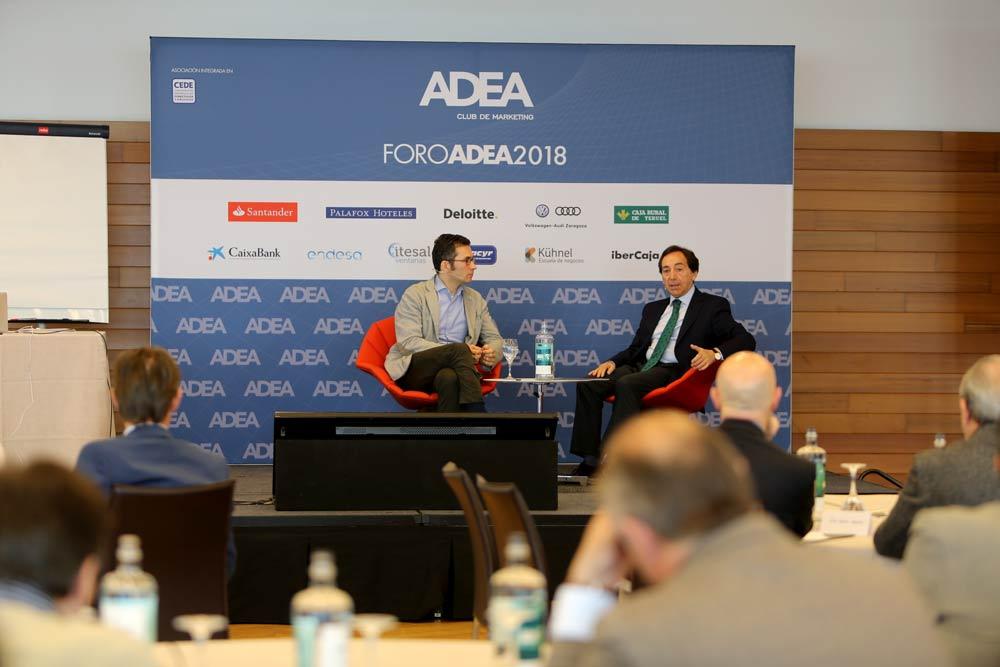Pablo Foncillas participó recientemente en el Foro ADEA para hablar sobre comercio electrónico e innovación