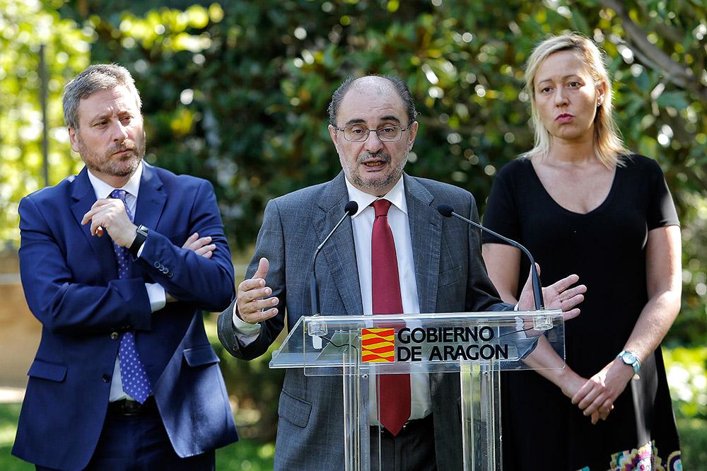 El Gobierno de Aragón hace balance de gestión en el tercer año de la legislatura