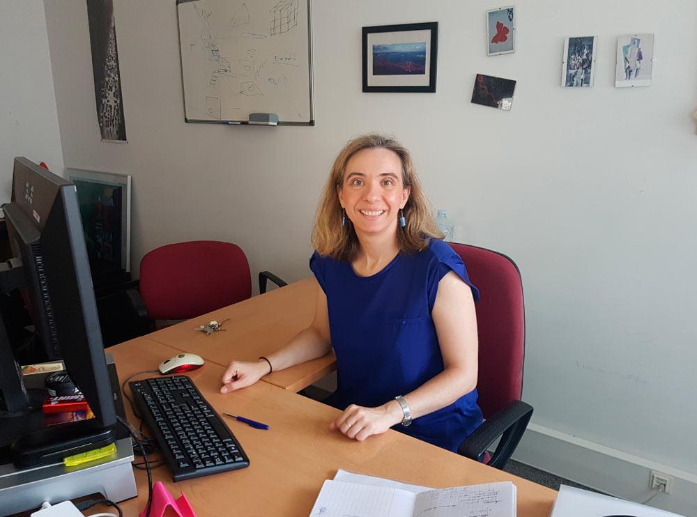 Pérez trabaja en el Instituto de Investigación en Ingeniería de Aragón