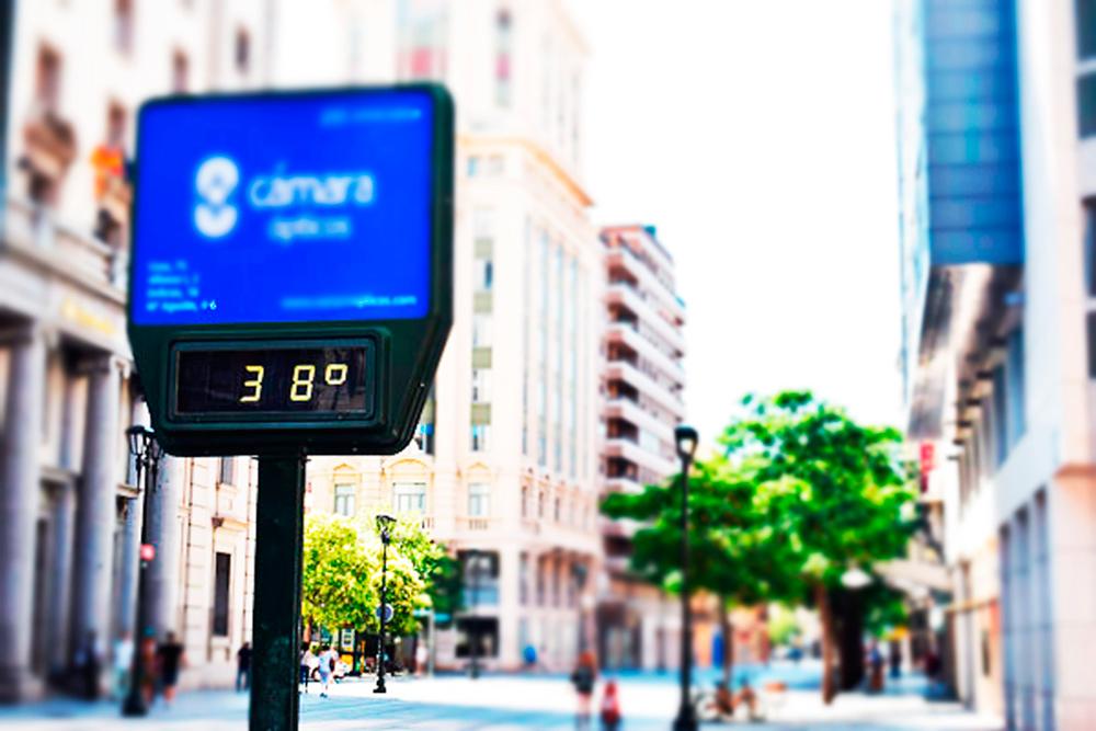 Este verano en Aragón el mercurio ha presentado picos de hasta 38 grados, registrando máximas nacionales