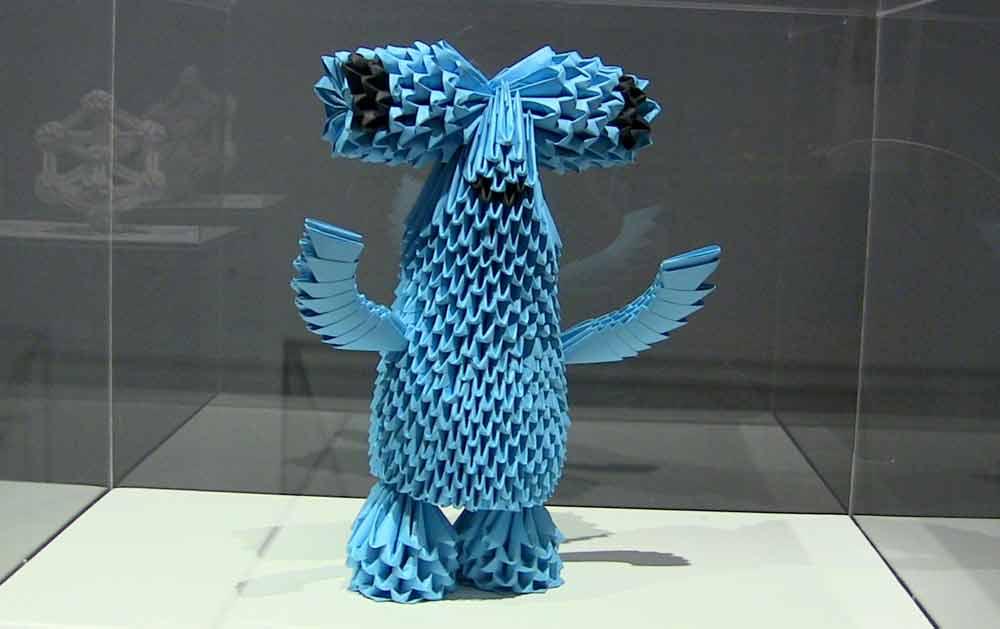 En el museo se encuentran figuras tan icónicas para la ciudad como la de Fluvi, la mascota de la Expo Zaragoza 2008
