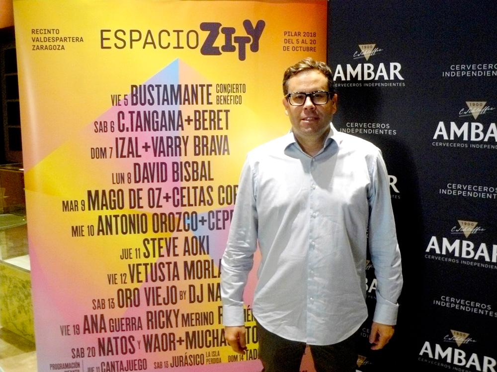Michel Pérez es el promotor del Espacio Zity