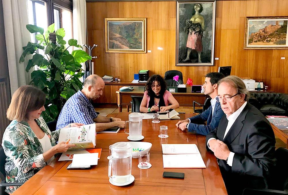 La Junta de Portavoces ha estado presidida por la concejal Arantza Gracia
