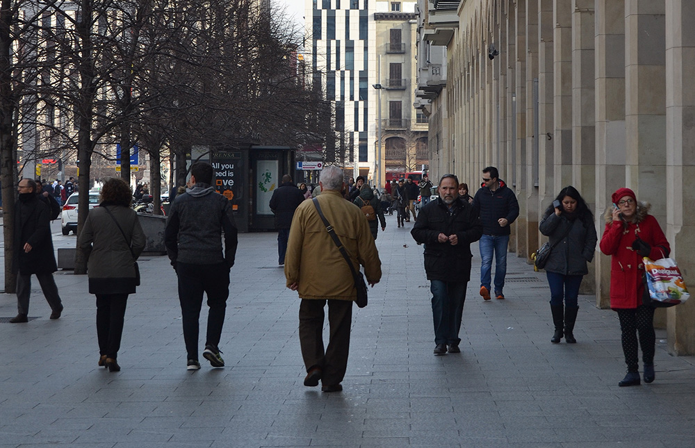 Zaragoza ha sido la única provincia que ha ganado población