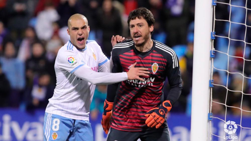 Cristian detenía un penalti vital. Foto: La Liga 123