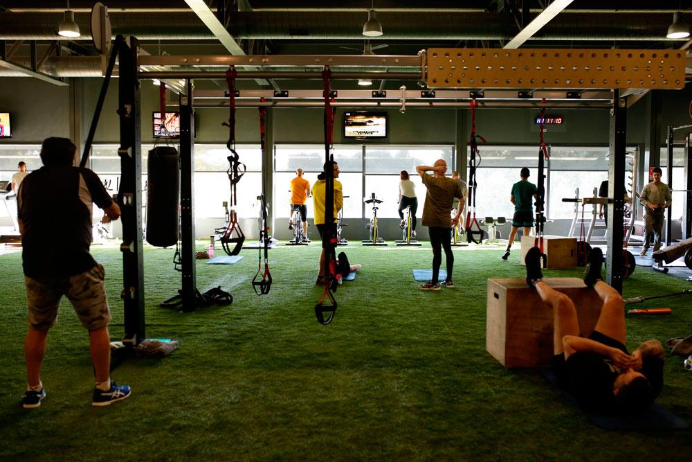 La sala de fitness se ha renovado para confort de los usuarios