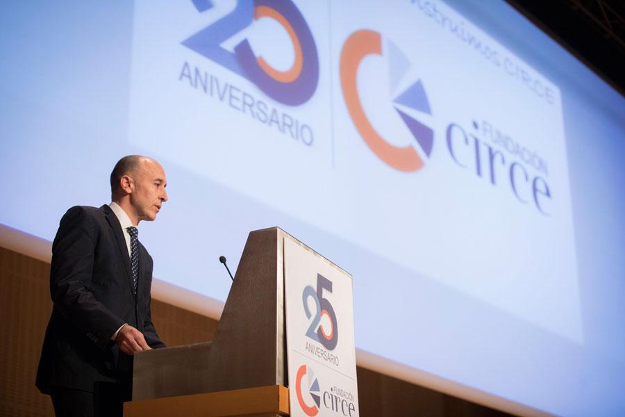 El director de Circe, Andrés Llombart, asegura que el premio Aragón Investiga ha supuesto un espaldarazo para el centro