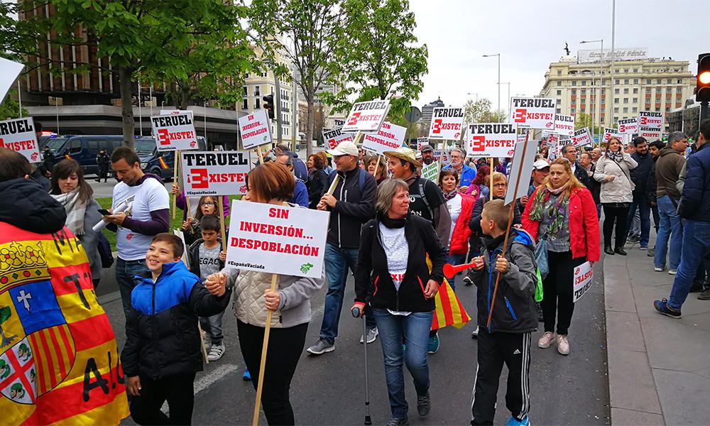 Unas 50.000 personas participaron en la manifestación celebrada en marzo