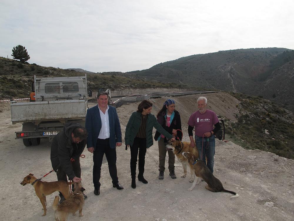 La alcaldesa de Teruel ha visitado las obras