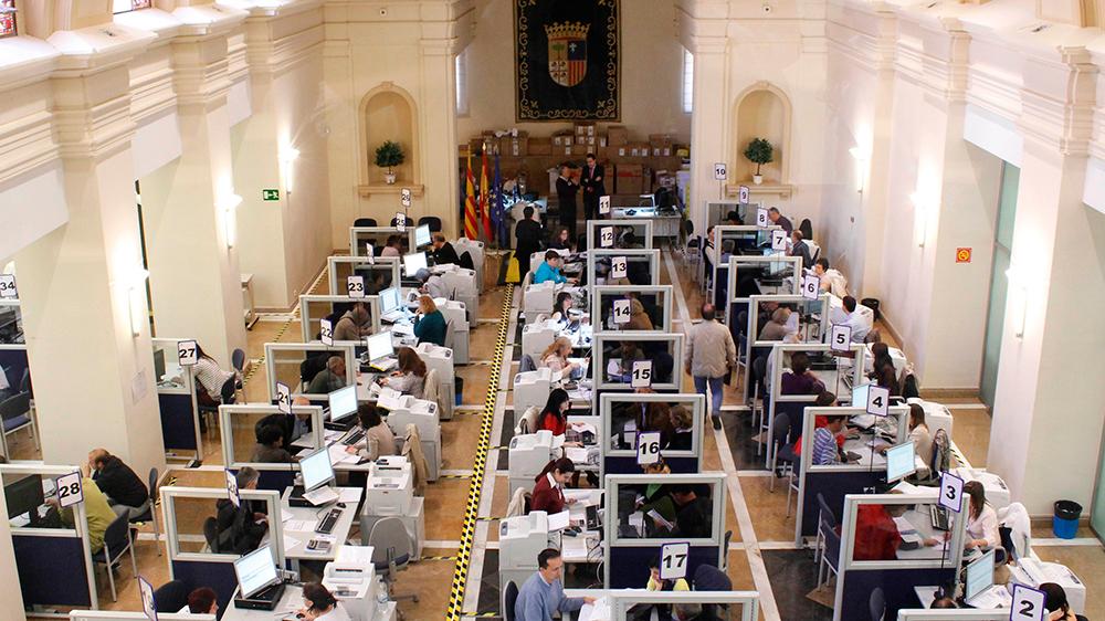 En total, Hacienda prevé devolver este año más de 331 millones de euros a 480.318 aragoneses