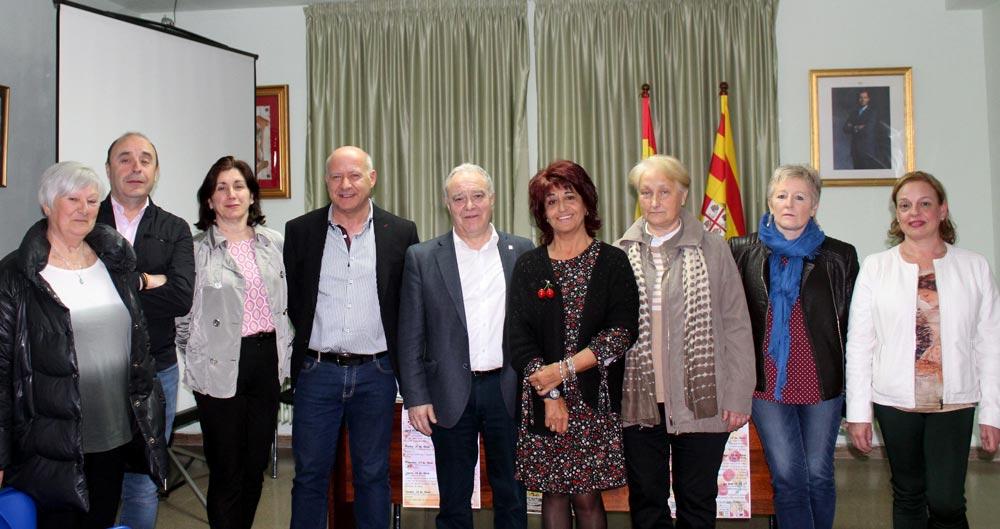 El presidente de la DPH ha asistido a la apertura de la Semana Cultural de Bolea