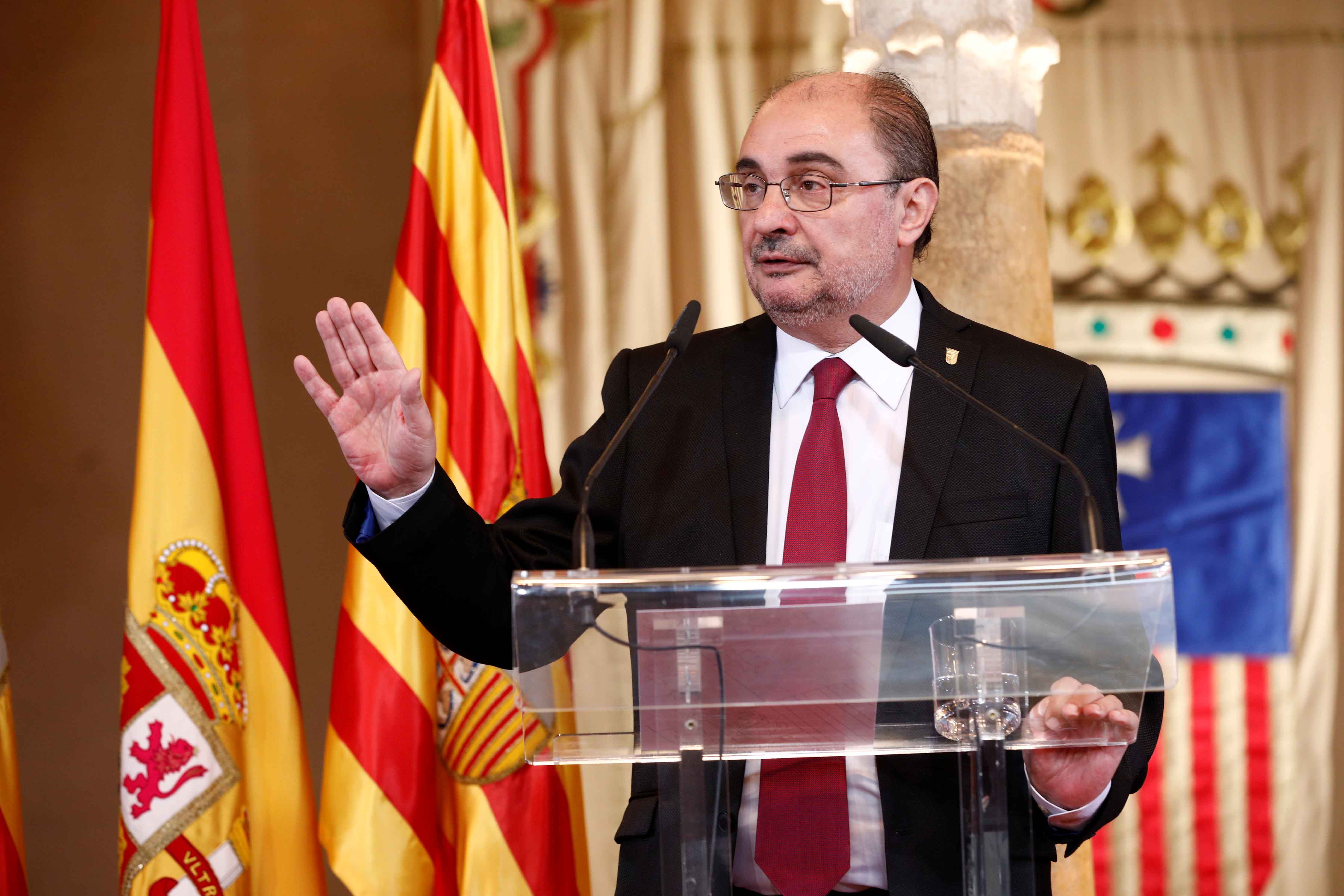 Lambán ha realizado una encendida defensa del autogobierno de Aragón