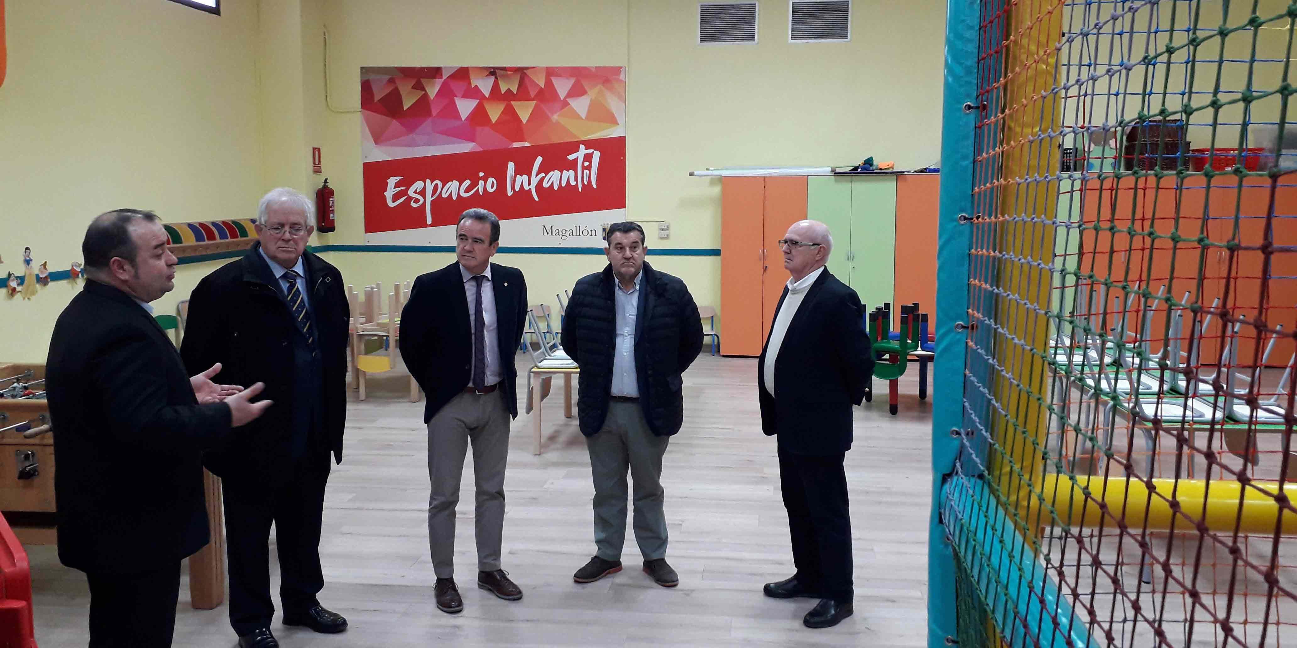 El espacio infantil ha supuesto una inversión cercana a los 60.000 euros