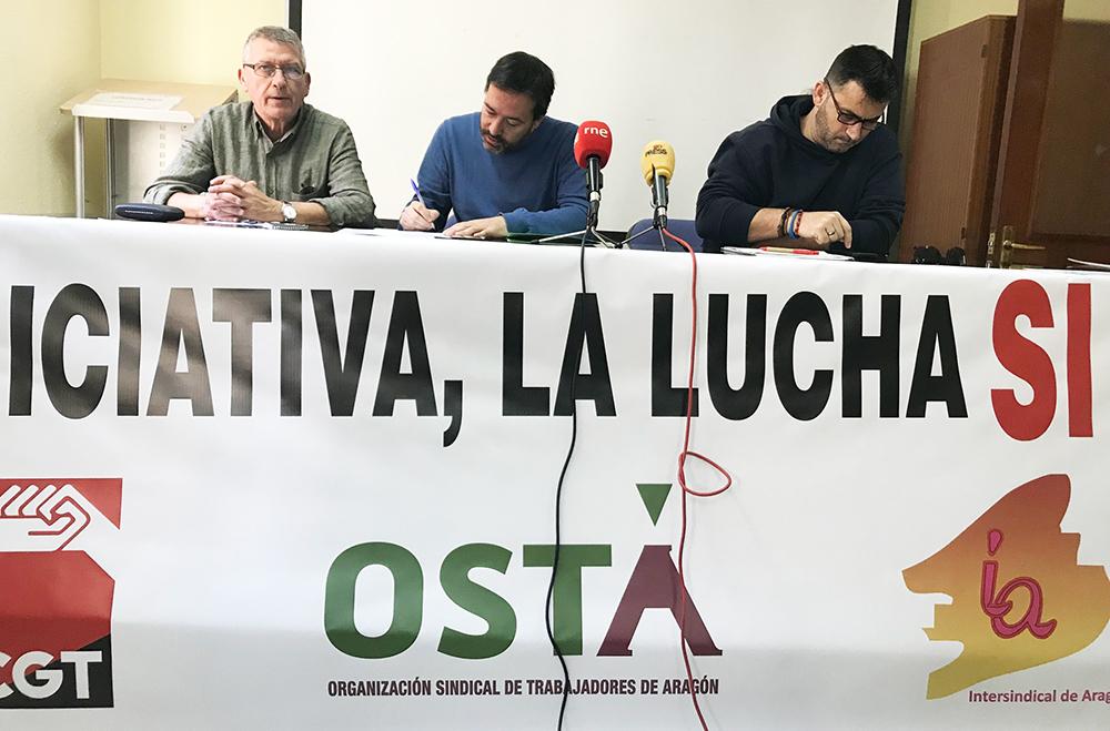 La manifestación saldrá a las 11.30 desde Plaza de Salamero y recorrerá las calles hasta la Plaza del Pilar