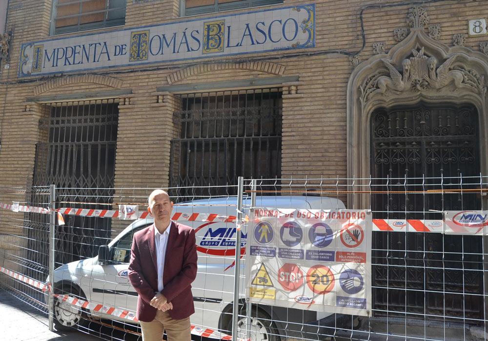 """Según Asensio, la recuperación del edificio de los años 30 es uno de los viejos """"sueños de CHA"""""""