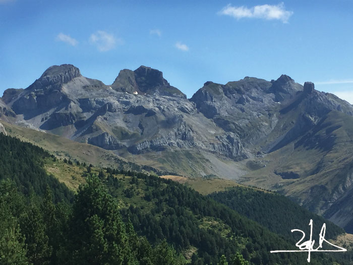 Macizo del Aspe. Pirineo aragonés.